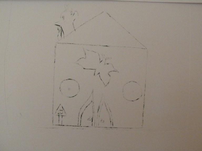 Gravure d'une maison idéale